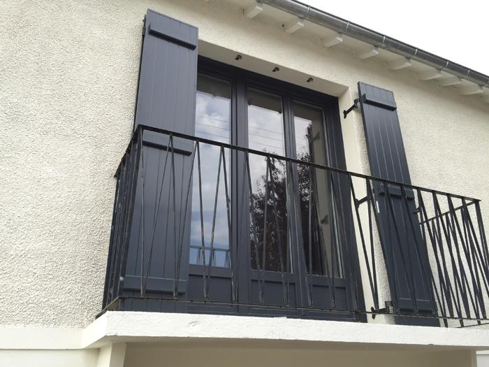 Installation Dune Porte Fenêtre 3 Vantaux Pvc De La Gamme Koncept